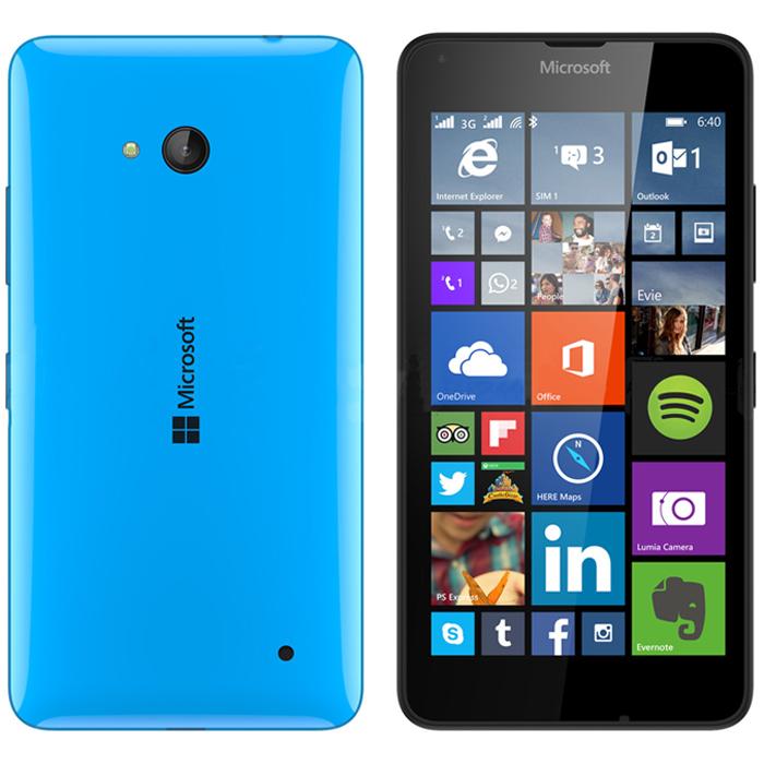 Microsoft lumia 640 dual sim cyan купить